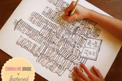 Unique Wedding Guest Book Ideas {Trendy Tuesday}