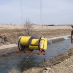 A small conduit hydro-electric project