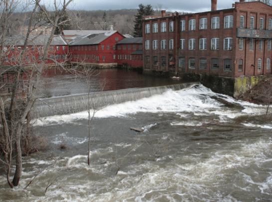 Collinsville dam