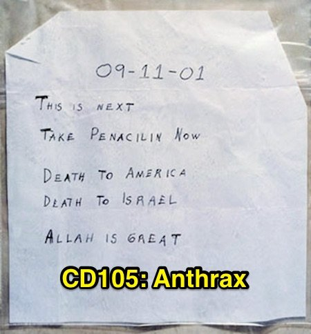 Congressional Dish episode CD105: Anthrax