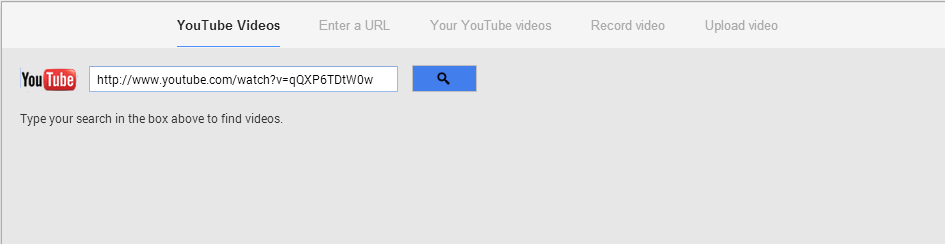 Google Plus video sharing options
