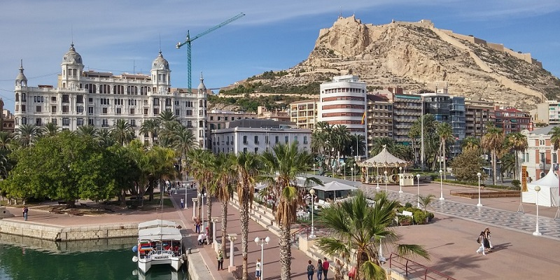 Visit Alicante, Traven to Alicante