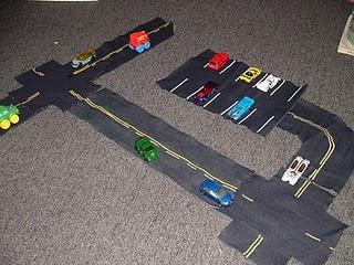 Fabric roads