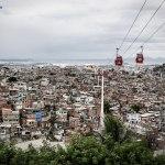 High above Complexo do Alemao