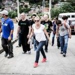 Walking through Complexo do Alemao