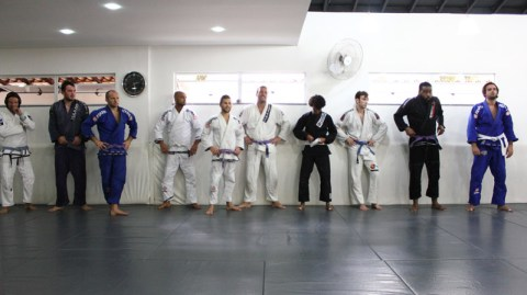 People of all levels come to Rio to train BJJ