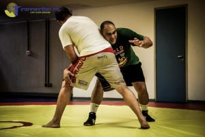 Brazilian Olympic wrestling coach and former MMA fighter, Antoine Jaoude