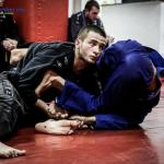Sponsored athlete Abdallah Nabas training at Checkmat in Rio