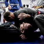 Paulo Mauricio Strauch showing a choke
