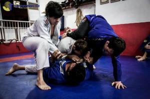"""BJJ """"gang fight"""" at Academia Strauch in Copacabana"""