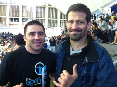 With BJJ and MMA legend Murilo Bustamante at the Rio Open