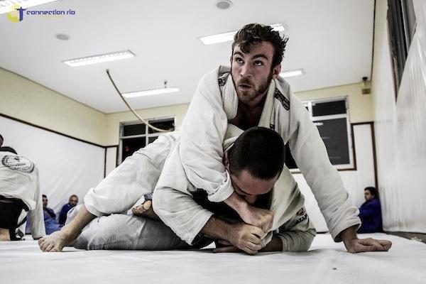 Torryn training at Nova Uniao