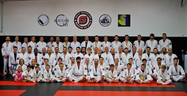 Great Grappling, Gordo black belt Jeremy Arel's BJJ gym in the USA