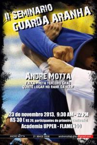 Andre Motta Nova União seminar