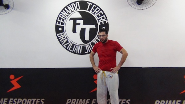 Davey Morehead at Terere's  gym in Ipanema