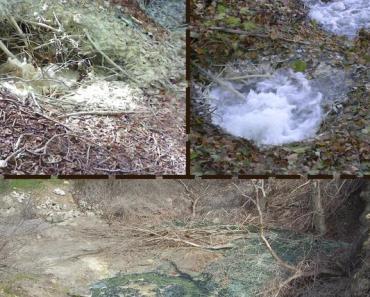 Le mofete della valle del Sele