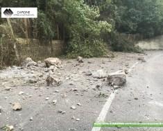 CARDINE COSTRUZIONI SRL, lavori di consolidamento di costoni rocciosi eseguiti in Cilento