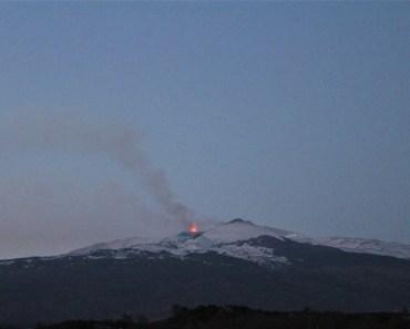 eruzione etna 27 feb 2017