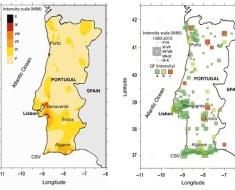 pericolosita sismica del Portogallo