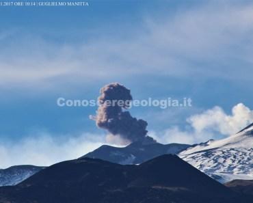 Etna eruzione 25 novembre ORE 10:14