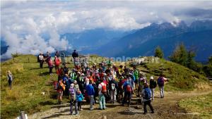 Escursione dei geologi al Monte Rite