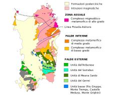 carta geologica sardegna