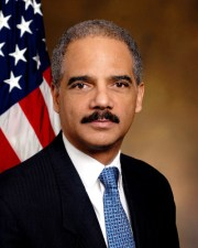 Eric Holder, or at least his aide, got caught with his pants down.