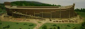 Noah's Ark under construction