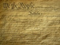 The Constitution. It's good to know your history, including the biblical foundations of this document.