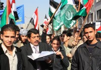 Hamas Damascus rally. What would those artistas thinki if they knew what these people really thought of them?
