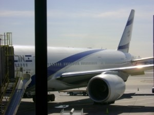 El Al, the national flag airline of Isrel