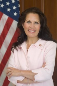 Michele Bachmann. She made up lost ground at the CNN Tea Party Debate.