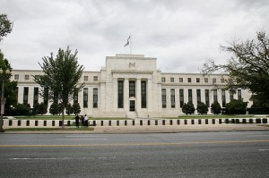 Federal Reserve headquarters. Their monetization of the debt caused another credit rating downgrade.