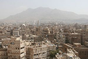 Sanaa, capital of Yemen, site of the most recent Muslim anti-American riots