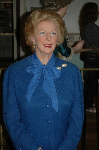 Margaret Thatcher. Kerry Ladka should think about what she said about other people's money.