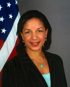 Ambassador Susan Rice. Obama defended her lamely and in fact used her to shield his own ineptitude, or worse.