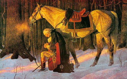 Washington prays for the soul of America