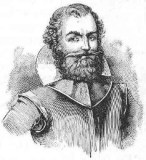 Captain John Smith, famous English settlement leader