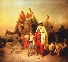 Abraham leaving home