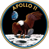 Apollo 11 official insigne