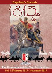 1813: The Campaigns of the Napoleonic Wars, Vol. 2 (new from Europa Simulazioni)