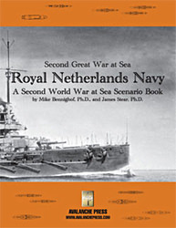SWWAS: Royal Netherlands Navy (new from Avalanche Press)