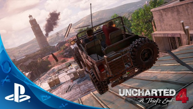 Uncharted 4: A Thief's End - Gameplay trailer E3 2015