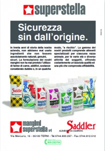 Saddler - Mangimi Superstella - Stampa