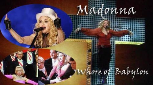 Madonna Illuminati Whore