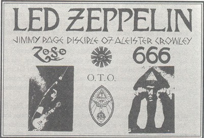 Led Zeppelin Crowley Page