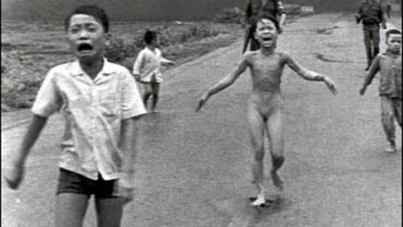 Vietnam Girl Napalm