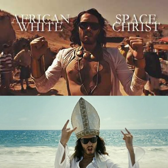 Russell Brand White Space Christ