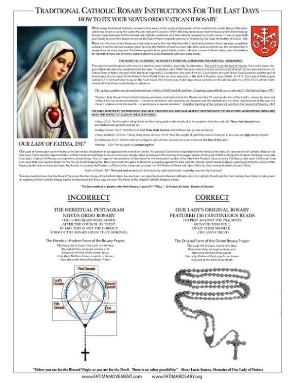 Madonna 150 Rosary
