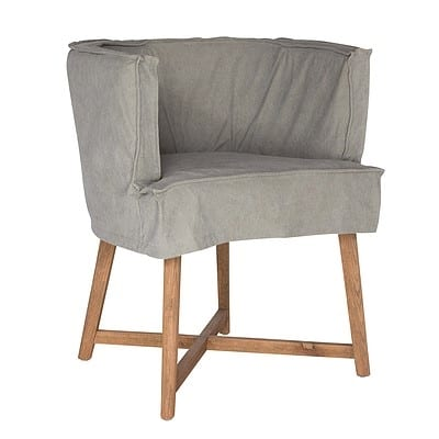 Uniqwa Guatamala Dining Chair - Fog